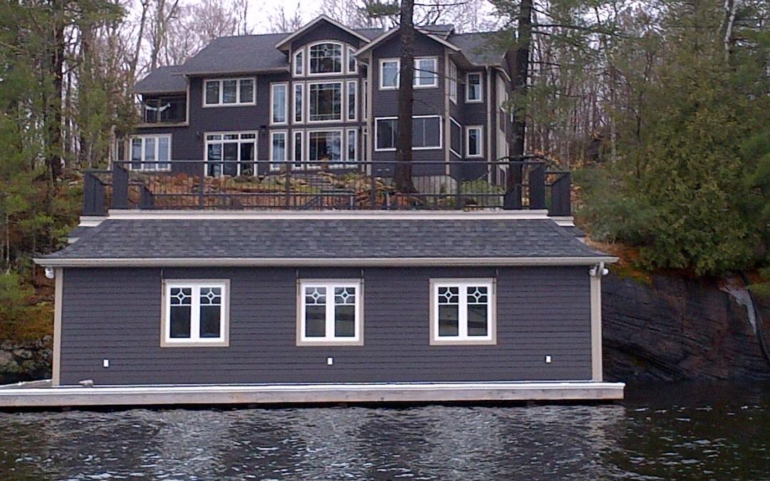 Homes, Cottages, Docks & Boathouses