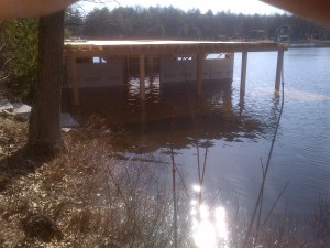 Gravenhurst Dock & Boathouse-April 24, 2013