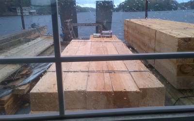 Replacing Your Dock Under An Existing Boathouse